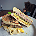 Mom Challenge with Bread Dumplings: Cuban Sandwich